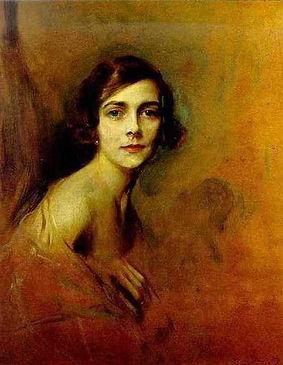 The portrait of Edwina by de László 