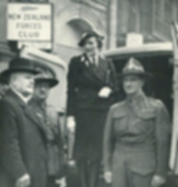 Edwina at work with the St John's Ambulance Brigade