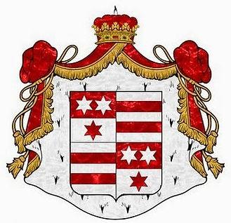 The arms of The Princes of Erbach-Schönberg  