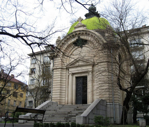 The Battenberg Mausoleum, Sofia, Bulgaria