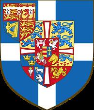 The original arms granted in 1947 to The Duke of Edinburgh 