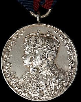 King George V Coronation Medal