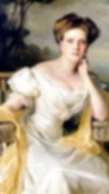 Alice, Princess Andrew of Greece & Denmark by Philip de László in 1907 