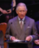 Prince Charles, The Prince of Wales making his speech at The Model Arts Centre, Sligo 