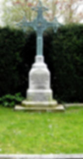 The joint grave of Mountbatten's parents at St Mildred's Church, Whippingham, Isle of Wight