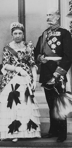 Julia, Countess (later Princess) of Battenberg  & Prince Alexander of Hesse & By the Rhine