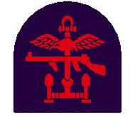The insignia of Combined Operations 