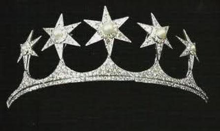 The Mountbatten Star Tiara - worn by four generations of Mountbatten brides 