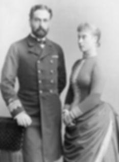 Mountbatten's parents - Prince & Princess Louis of Battenberg 