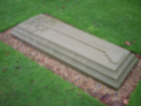Leopold's grave at the Royal Burial Ground,  Frogmore, Windsor