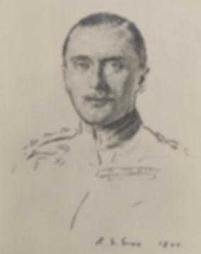 A sketch of Leopold (c.1920) by Reginald Grenville Eves
