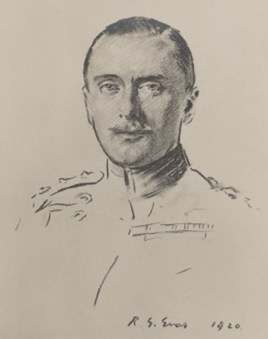 A sketch of Leopold (c.1920) by Reginald Grenville Eves