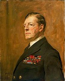 Admiral of the Fleet Sir David Beatty, 1st Earl Beatty by Sir Arthur Cope