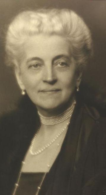 Johanna, Countess VON Hartenau in later life 
