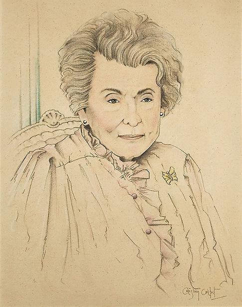 Corbet's portrait of Patricia 