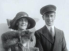 Newlyweds - Edwina & Mountbatten (Lord & Lady Louis Mountbatten)