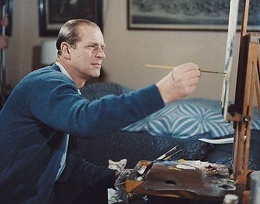 Philip painting 