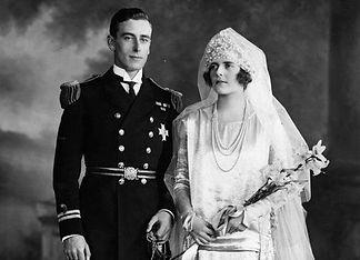 Mountbatten & Edwina after their wedding
