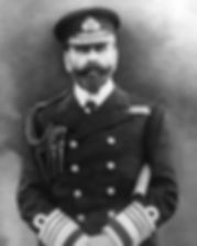 Prince Louis of Battenberg as an Admiral in the Royal Navy
