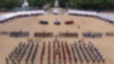 The VJ70 Drumhead Service at Horseguards Parade, London 