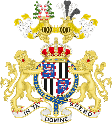 The arms of Prince Henry of Battenberg (after 1885) ​