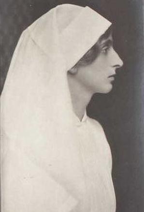 Louise as a nurse during World War I