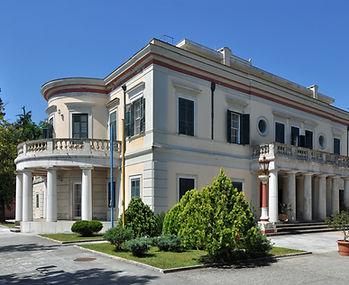"Villa ""Mon Repos"", Corfu the home of Prince & Princess Andrew of Greece and the birthplace of Prince Philip, Duke of Edinburgh "