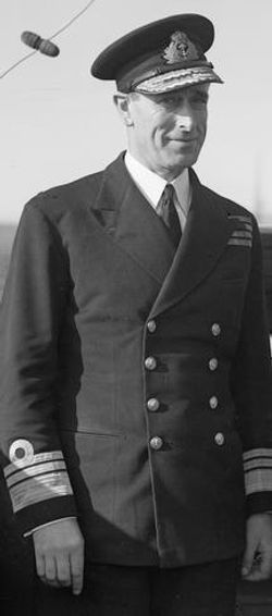 Mountbatten - Chief of Combined Operations in 1943