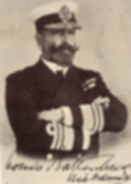 Prince Louis of Battenberg as a Vice-Admiral in the Royal Navy ​