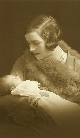 Edwina with her daughter Pamela