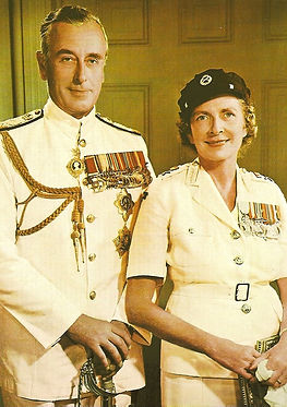 Mountbatten & Edwina