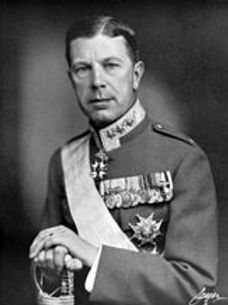 Crown Prince Gustaf Adolf of Sweden later King Gustaf VI Adolf