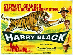"Film poster for ""Harry Black and the Tiger"" ​"