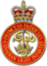 "The insignia of ""The Patricias""- Princess Patricia's Canadian Light Infantry (PPCLI) ​"