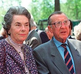 Mountbatten's eldest daughter - Patricia, 2nd Countess Mountbatten of Burma & John, 7th Lord Brabourne 