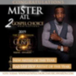 Mister ATL -Gospel Choice Award Nominee