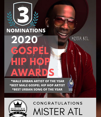 Mister ATL 2020 Gospel Hip Hop Awards No