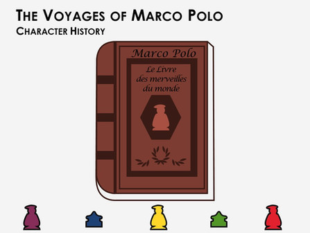 The Voyages of Marco Polo: Character History