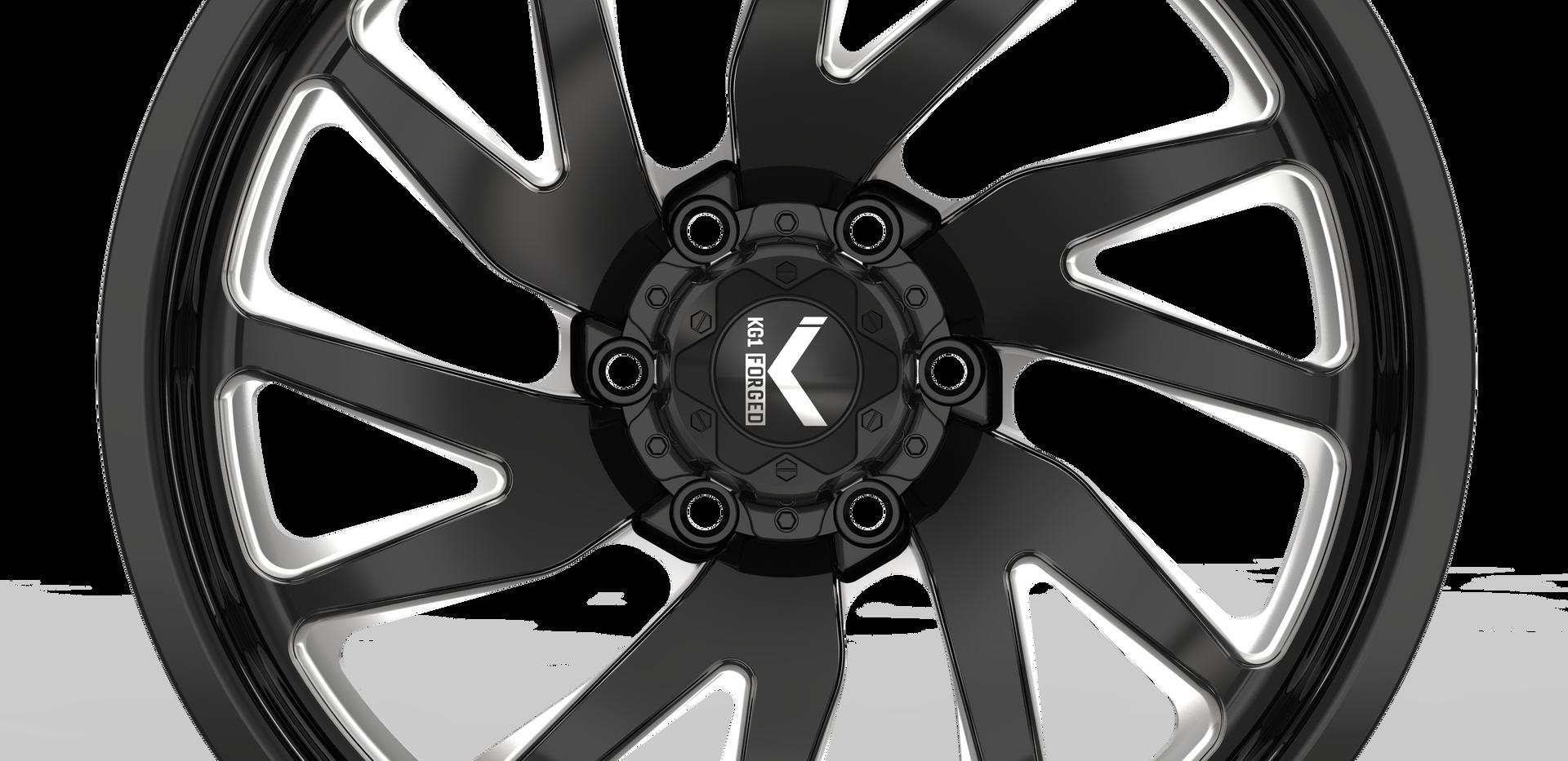 VILE KF004-6H- Black Machining