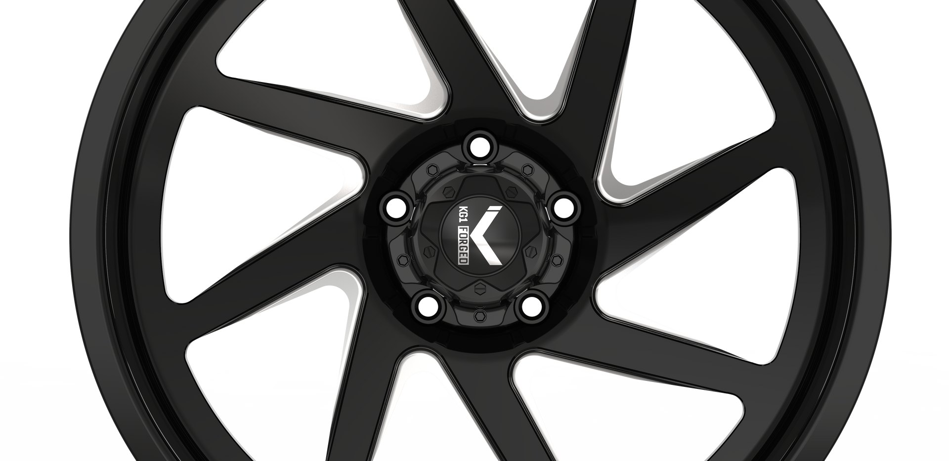 EDGE KC005R-5H- Black Machining