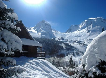 Esquí en la alpina Gourette, los Pirineos en Mayúsculas