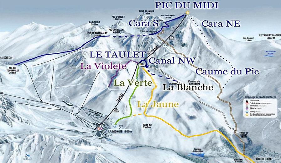Itinerarios Pic du Midi de Bigorre