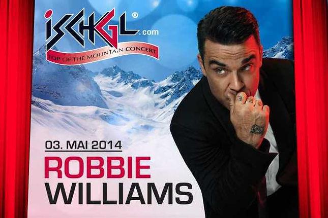 Robbie Williams en Ischgl