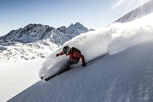 Freeride Stubai. Stubaier Gletscher by C