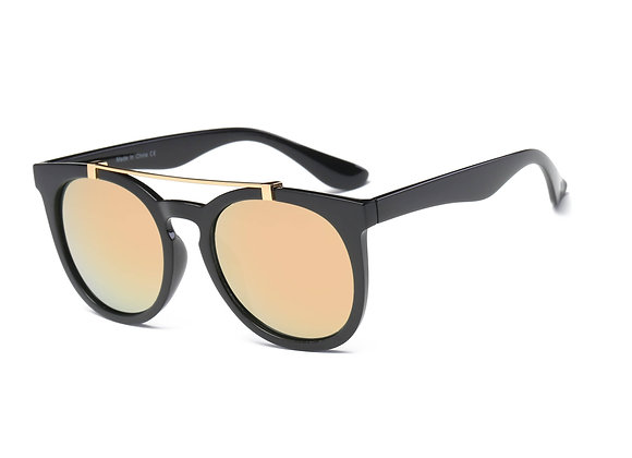 Unisex Bridge Round Sunglasses