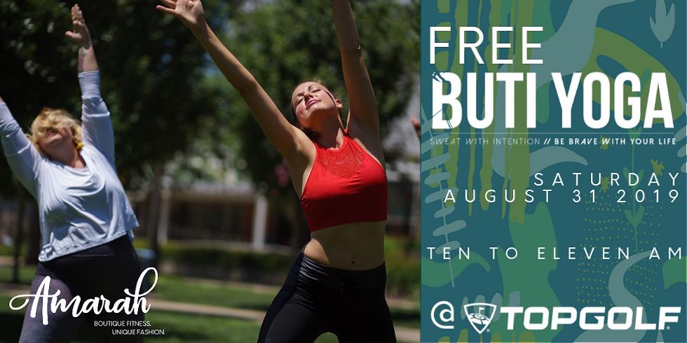 FREE Buti Yoga at Topgolf