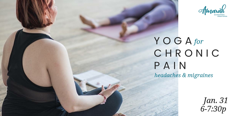 Yoga for Chronic Pain: Headaches/Migraines