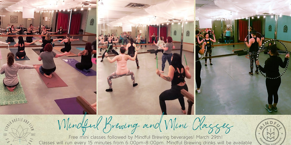 Mindful Brewing and Mini Classes