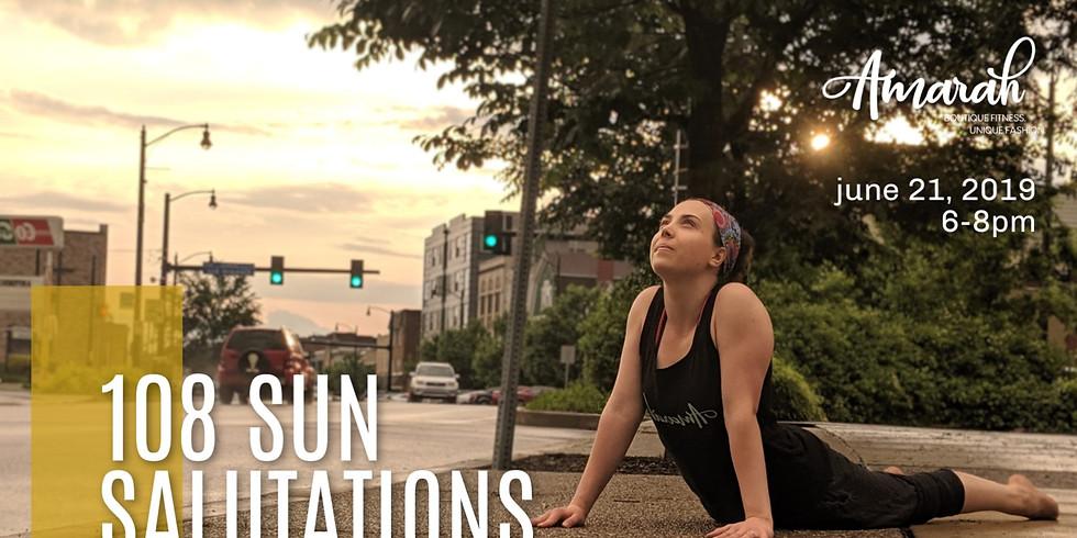 Summer Solstice 108 Sun Salutations