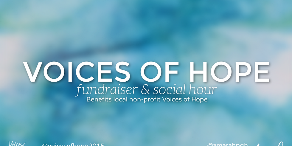 Voices of Hope Fundraiser & Social Hour